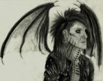 On Leather Wings by TatsuoMizushima