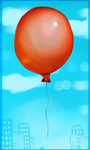 Red Balloon by ScottishPeppers