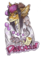Contest Prizes -Darkmoon Badge by JustRach
