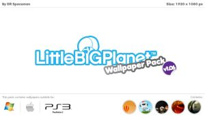 LittleBigPlanet Wallpaper Pack by DRSpaceman