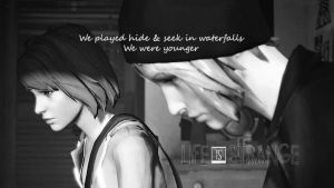 Life Is Strange - Black and White by KateWindhelm