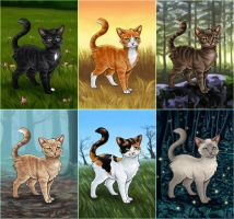 Warrior Cats - Buildable Avatar Series by Wynnyelle