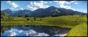 Rohrmoos Panorama by deaconfrost78