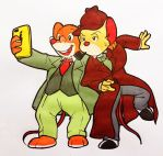 Basil crossover Geronimo : Let's take a selfie by doraemonbasil