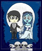 Emo and the corpse bride by MayRoco