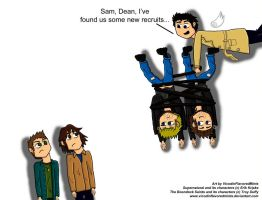 SPN meets BDS by VicodinFlavoredMints