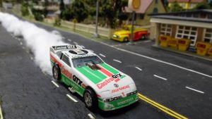 John Force Castrol GTX Oldsmobile by hankypanky68