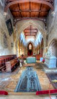 St Michael and All Angels Interior 02 by s-kmp