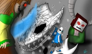 GlitchTale - Your Best Friend by Ice6400