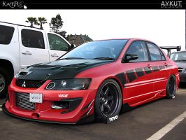 Mitsubishi Evolution IX by aykutfiliz