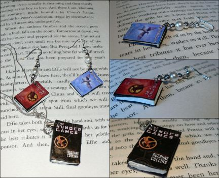 The Hunger Games Jewelry Set by melijan