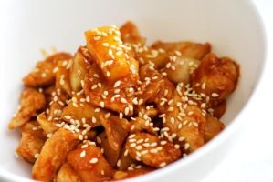 Sweet and sour chicken by shmnk