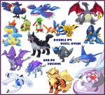 Double P's Pokemon Pixelovers by PalkiaPerson