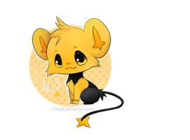 Cervantes - Shinx Shiny by i-Zorak