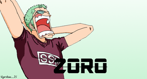 Zoro Coloring Opening 11 by mayaxluffy