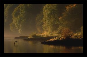 Sunrise on the river by wienwal
