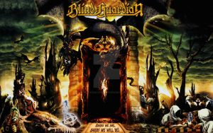 Blind Guardian collage by croatian-crusader