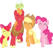 [MLP] Apples to the Core Vector by AnonimowyBrony