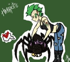 Pet Spider by 13MorbidMouse13