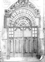 Sketch: Doorway by ktparkes