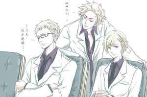 White suit by akato3
