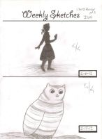 Sketches for Art Class 2 by TdankBelle