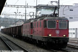 SBB Re 4-4 II 11334 + Re 6-6 11685 by SwissTrain