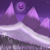 Purple Lands by HalfInane-HalfMental