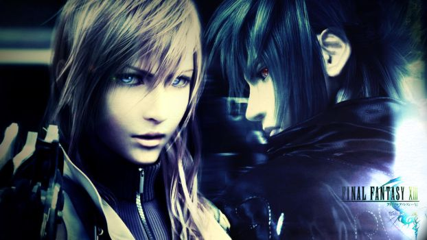 FFXIII: Lightning and Noctis by enelya615