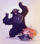 Chibis Merida and Mordu by princekido