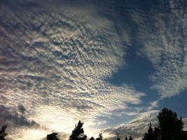 Clouds on the sky by LunaticNate