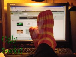 My Ugly Socks... by HoldMyAchingHeart