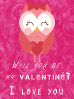 Valentine card #1 by SplashyRainbow