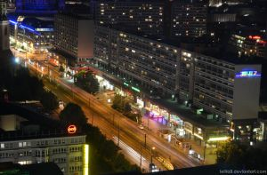 Berlin by night by lelita8