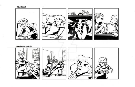 'Tall' Comic Strips 5 and 6 by Polartech