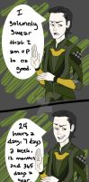 Smart Ass_Loki by pistol-paintbrush493