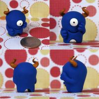 Chuckles the Timid Monster by TimidMonsters