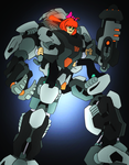 Commission- Penny's Exo Toa by NickinAmerica