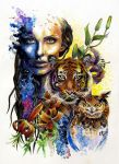 Expressions of Divinity by Catscendence