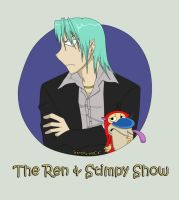 The Ren and Stimpy show by GiantPurpleCat