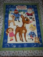 Rudolph the Red-Nosed Reindeer Quilt by inaligrimalkin