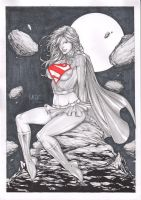 SUPERGIRL. by Leomatos2014