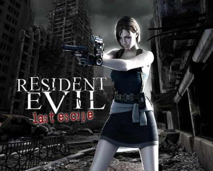Resident Evil: Last Escape HD Wallpaper by CuttingEdge93