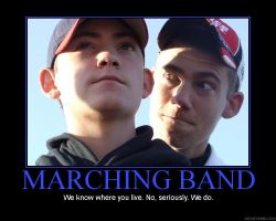 Marching band: We Know by StuntzTheDude