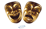 Comedy and tragedy mask - PNG by lifeblue