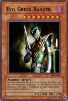 Evil Green Ranger Card by SRB2master1337