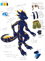 Anthro Dragonsona Ref Sheet by Leithster