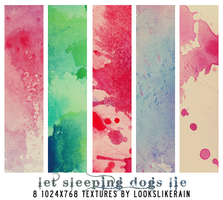 Let Sleeping Dogs Lie by lookslikerain