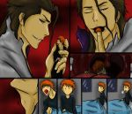 You're Creepy, Aizen -Colored- by MewGiX3