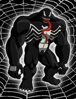 Venom (Ultimate Spider-Man) by BennytheBeast